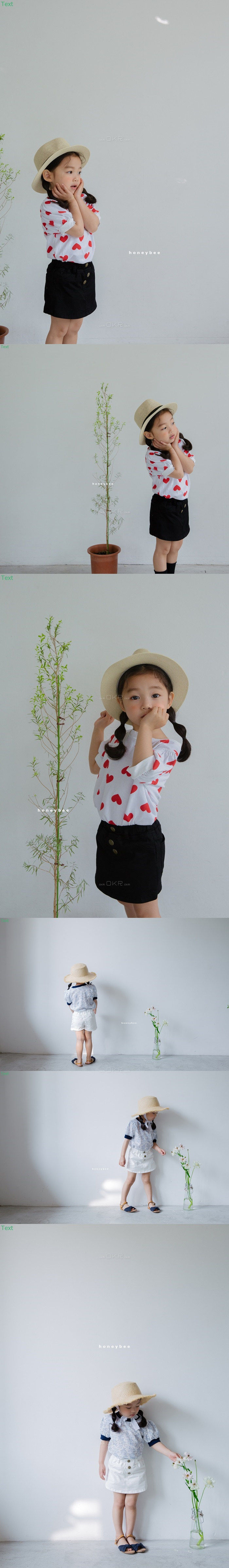 HONEYBEE - Korean Children Fashion - #Kfashion4kids - Button Skirt Pants