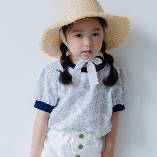 HONEYBEE - BRAND - Korean Children Fashion - #Kfashion4kids - Lunch Tee