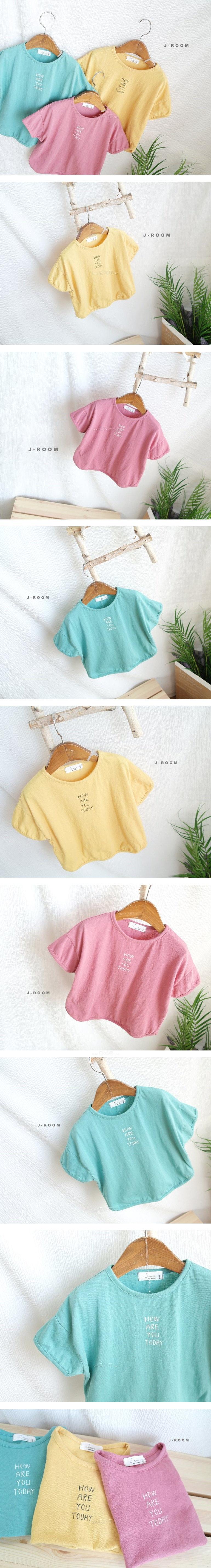 J-ROOM - Korean Children Fashion - #Kfashion4kids - Letter Tee