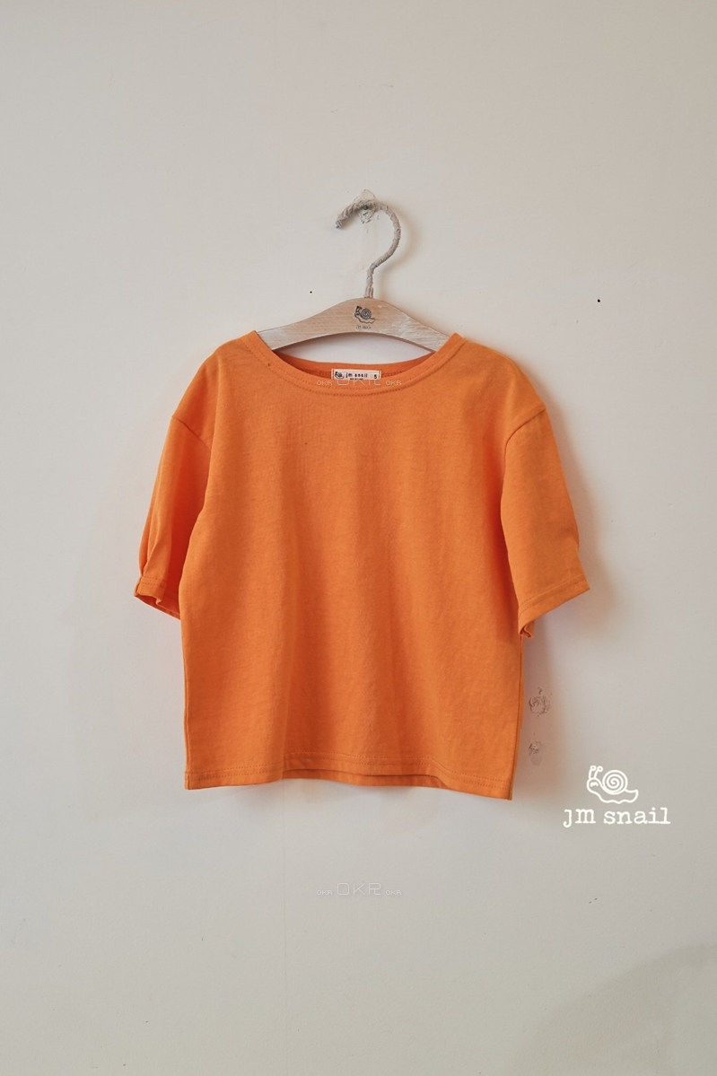 JM SNAIL - Korean Children Fashion - #Kfashion4kids - Basic Tee