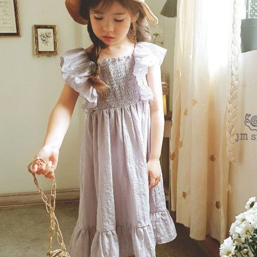 JM SNAIL - BRAND - Korean Children Fashion - #Kfashion4kids - Smock Dress