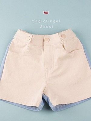 MAGIC FINGER - BRAND - Korean Children Fashion - #Kfashion4kids - Natural Denim Pants