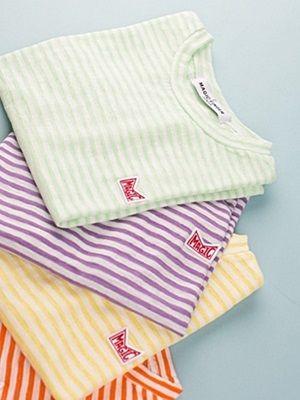 MAGIC FINGER - BRAND - Korean Children Fashion - #Kfashion4kids - Magic Stripe Tee