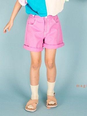 MAGIC FINGER - BRAND - Korean Children Fashion - #Kfashion4kids - Crayon Pants