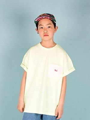 MAGIC FINGER - BRAND - Korean Children Fashion - #Kfashion4kids - Pocket Tee