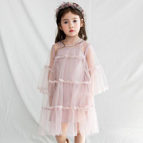 MERRY KATE - BRAND - Korean Children Fashion - #Kfashion4kids - Beronica Dress