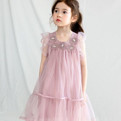 MERRY KATE - BRAND - Korean Children Fashion - #Kfashion4kids - Bell Dress