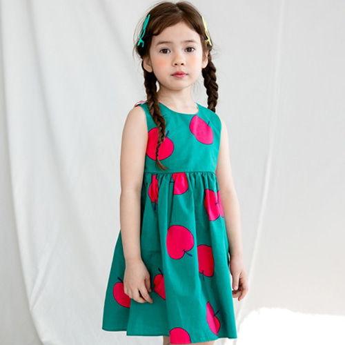 MERRY KATE - BRAND - Korean Children Fashion - #Kfashion4kids - Apple Dress