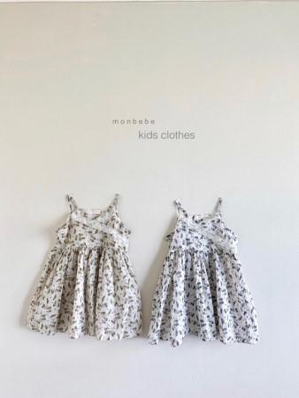 MONBEBE - BRAND - Korean Children Fashion - #Kfashion4kids - Becky Dress