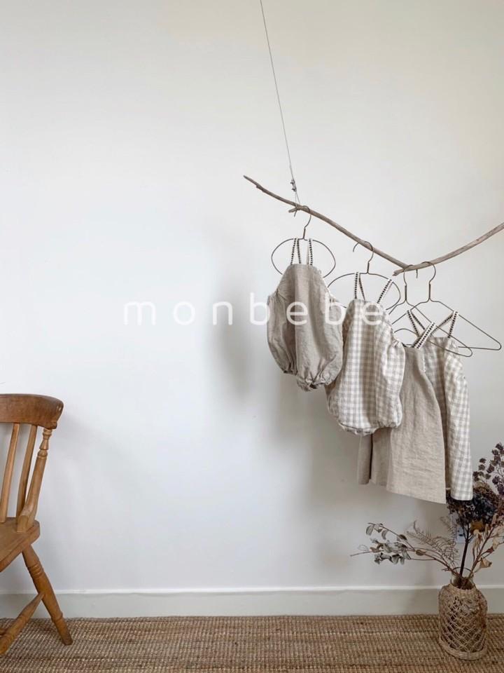 MONBEBE - Korean Children Fashion - #Kfashion4kids - Macaron Baby Bodysuit - 4