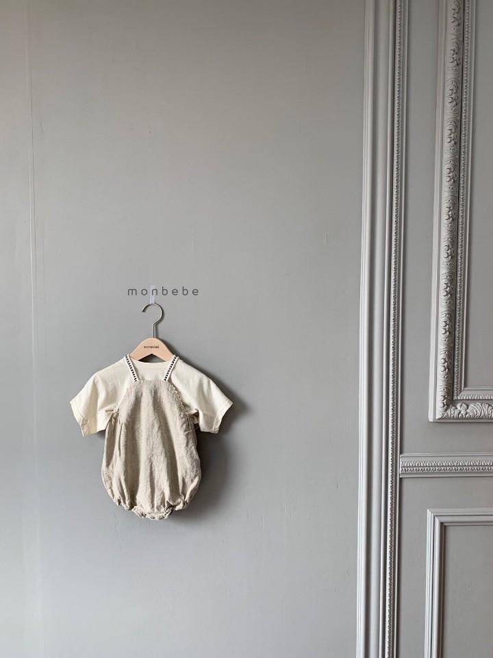 MONBEBE - Korean Children Fashion - #Kfashion4kids - Macaron Baby Bodysuit - 8