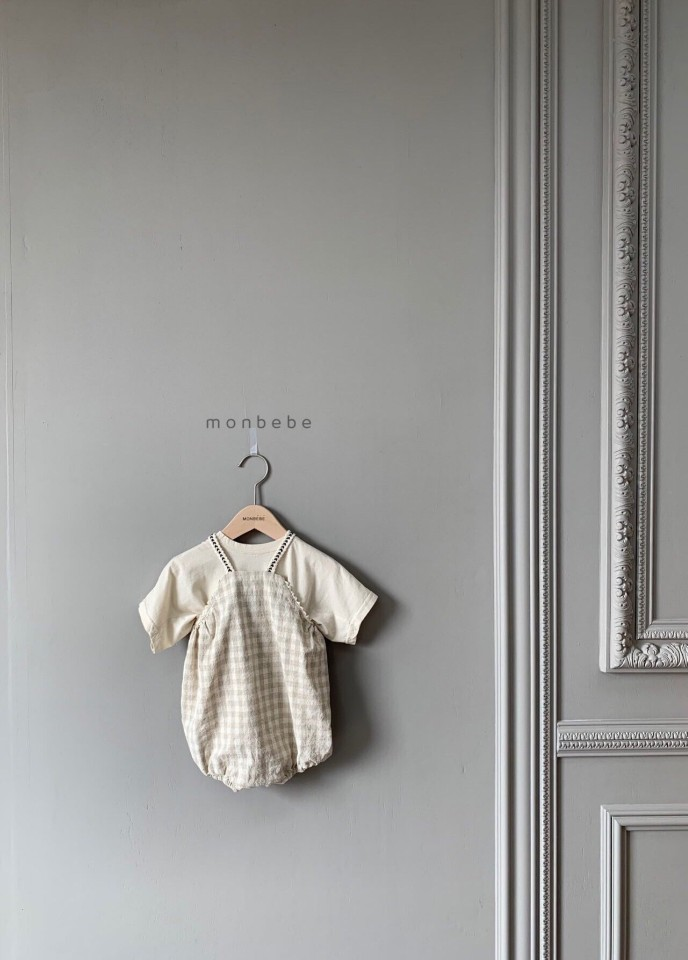 MONBEBE - Korean Children Fashion - #Kfashion4kids - Macaron Baby Bodysuit - 9