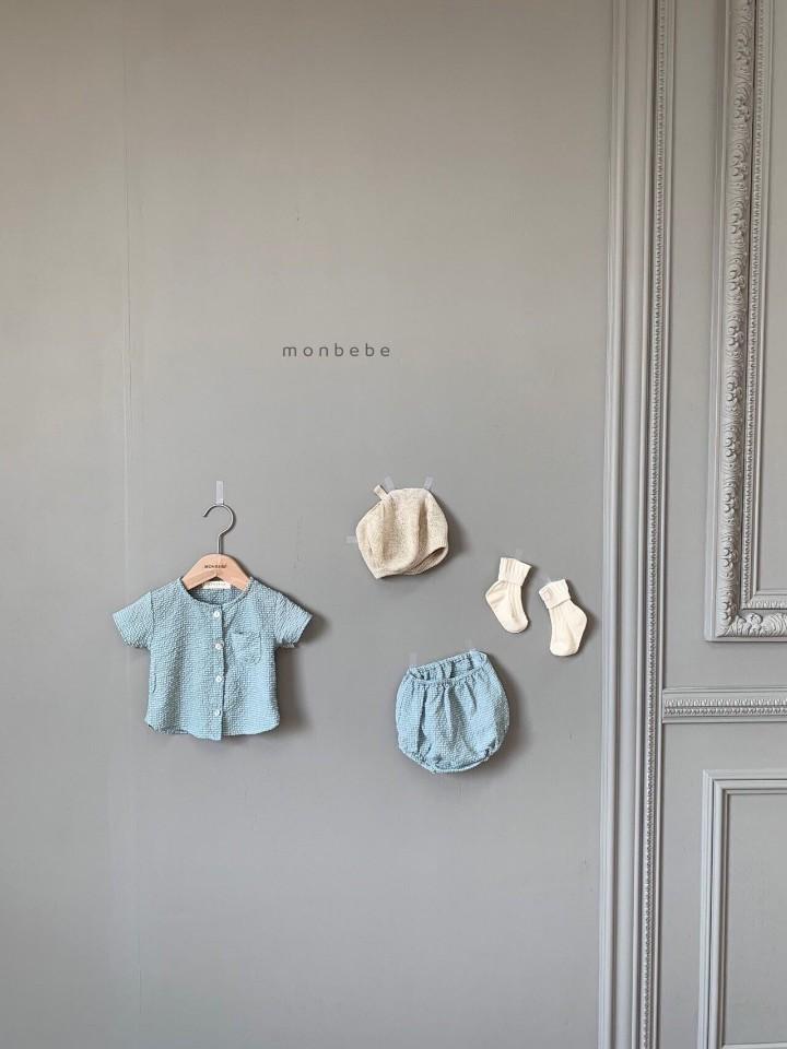 MONBEBE - Korean Children Fashion - #Kfashion4kids - Small Check Top Bloomer Set - 10