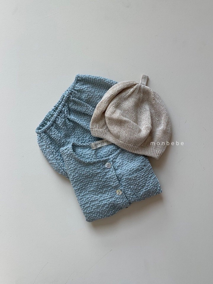 MONBEBE - Korean Children Fashion - #Kfashion4kids - Small Check Top Bloomer Set - 5