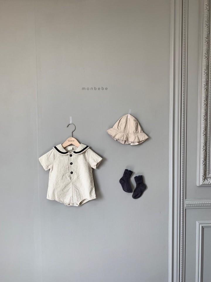 MONBEBE - Korean Children Fashion - #Kfashion4kids - Linen Sera Bodysuit
