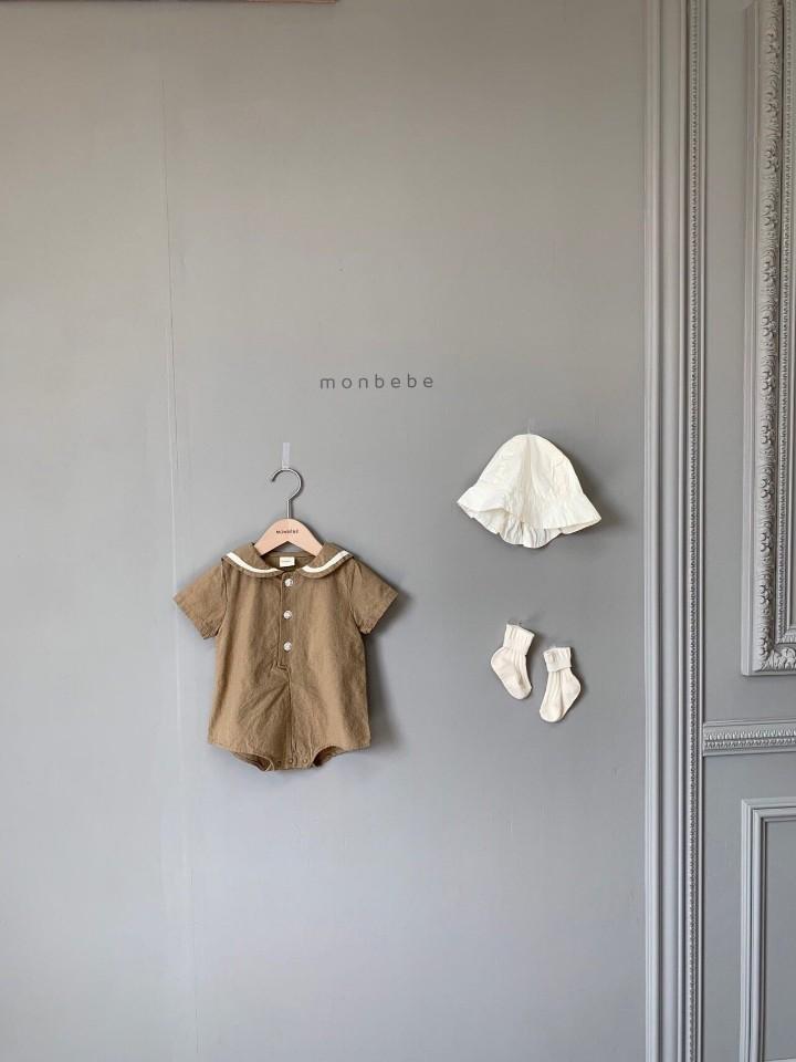 MONBEBE - Korean Children Fashion - #Kfashion4kids - Linen Sera Bodysuit - 2