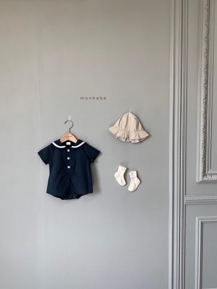 MONBEBE - Korean Children Fashion - #Kfashion4kids - Linen Sera Bodysuit - 3
