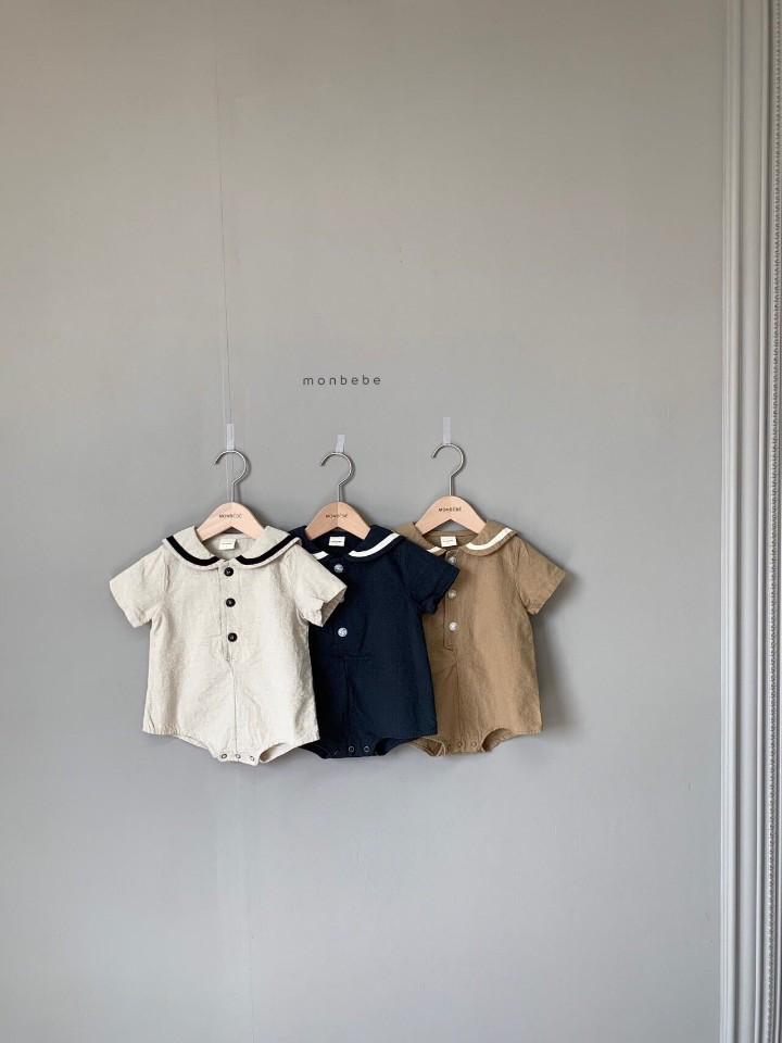 MONBEBE - Korean Children Fashion - #Kfashion4kids - Linen Sera Bodysuit - 4