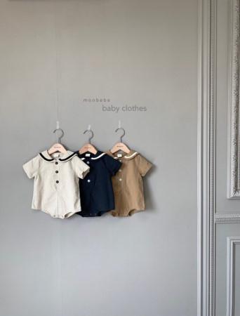MONBEBE - BRAND - Korean Children Fashion - #Kfashion4kids - Linen Sera Bodysuit