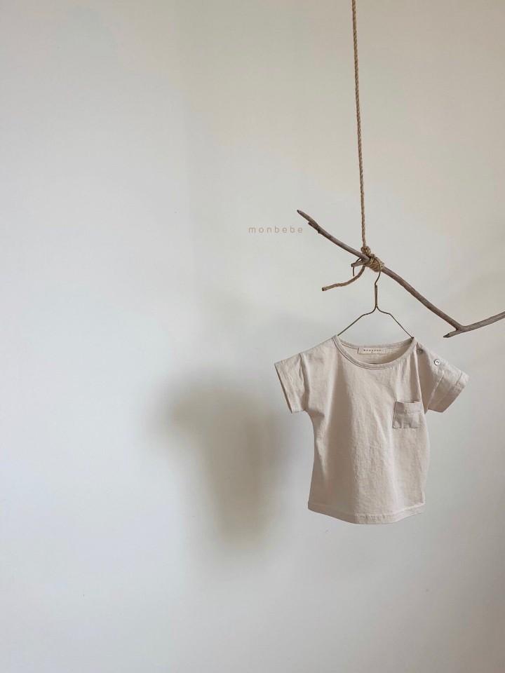 MONBEBE - Korean Children Fashion - #Kfashion4kids - Pocket Tee - 3