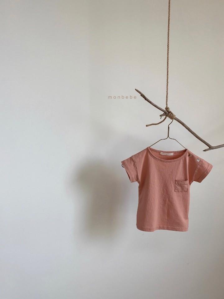 MONBEBE - Korean Children Fashion - #Kfashion4kids - Pocket Tee - 4