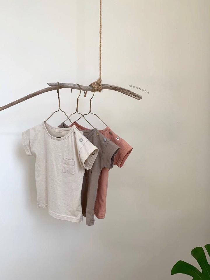 MONBEBE - Korean Children Fashion - #Kfashion4kids - Pocket Tee - 6