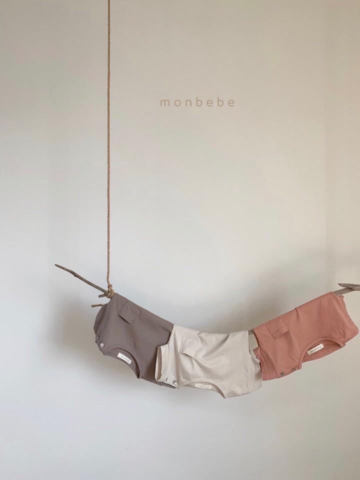 MONBEBE - Korean Children Fashion - #Kfashion4kids - Pocket Tee - 8