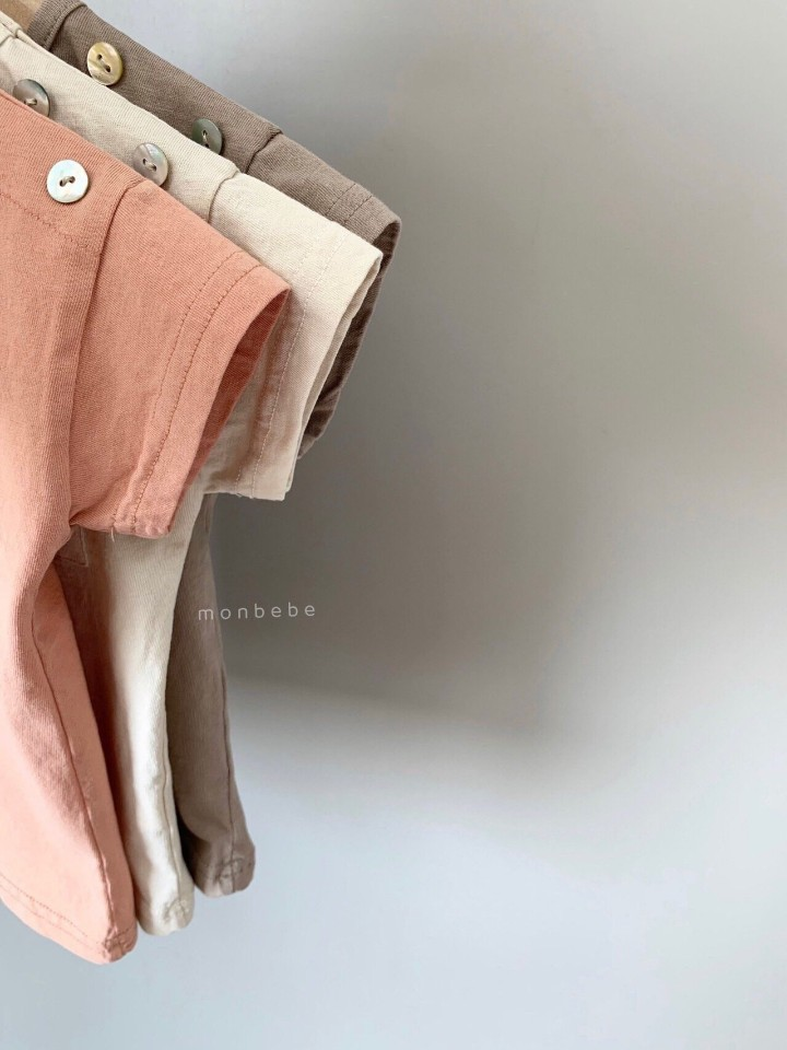 MONBEBE - Korean Children Fashion - #Kfashion4kids - Pocket Tee - 9