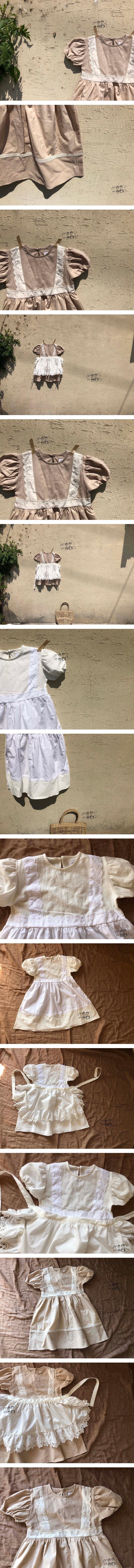MOOJI MOOJI - Korean Children Fashion - #Kfashion4kids - Apron Dress