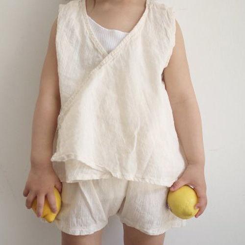 OPENING & - BRAND - Korean Children Fashion - #Kfashion4kids - Mica Top Bottom Set