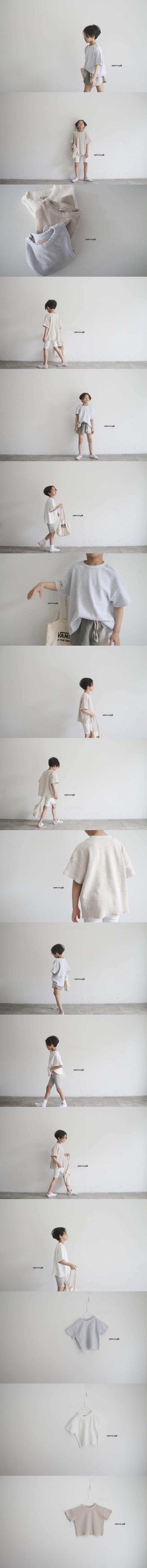 OPENING & - Korean Children Fashion - #Kfashion4kids - Waffle Tee