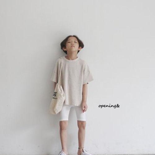 OPENING & - BRAND - Korean Children Fashion - #Kfashion4kids - Waffle Tee