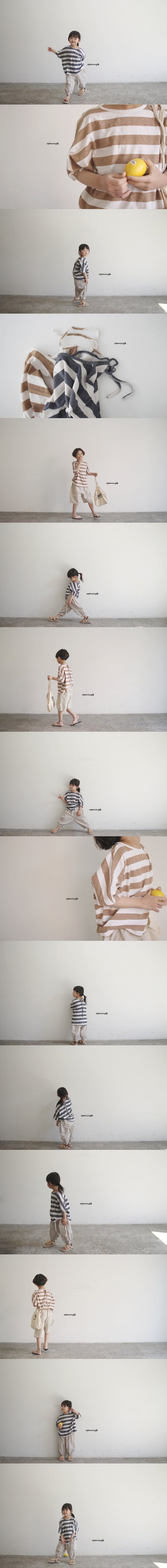 OPENING & - Korean Children Fashion - #Kfashion4kids - Paint Tee