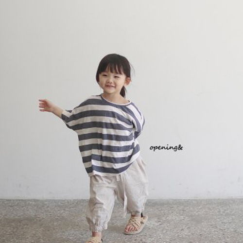 OPENING & - BRAND - Korean Children Fashion - #Kfashion4kids - Paint Tee