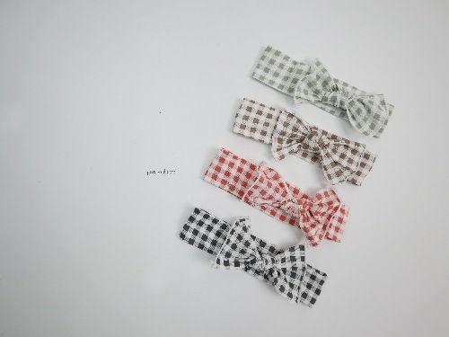 PEEKABOO - BRAND - Korean Children Fashion - #Kfashion4kids - Square Hairband