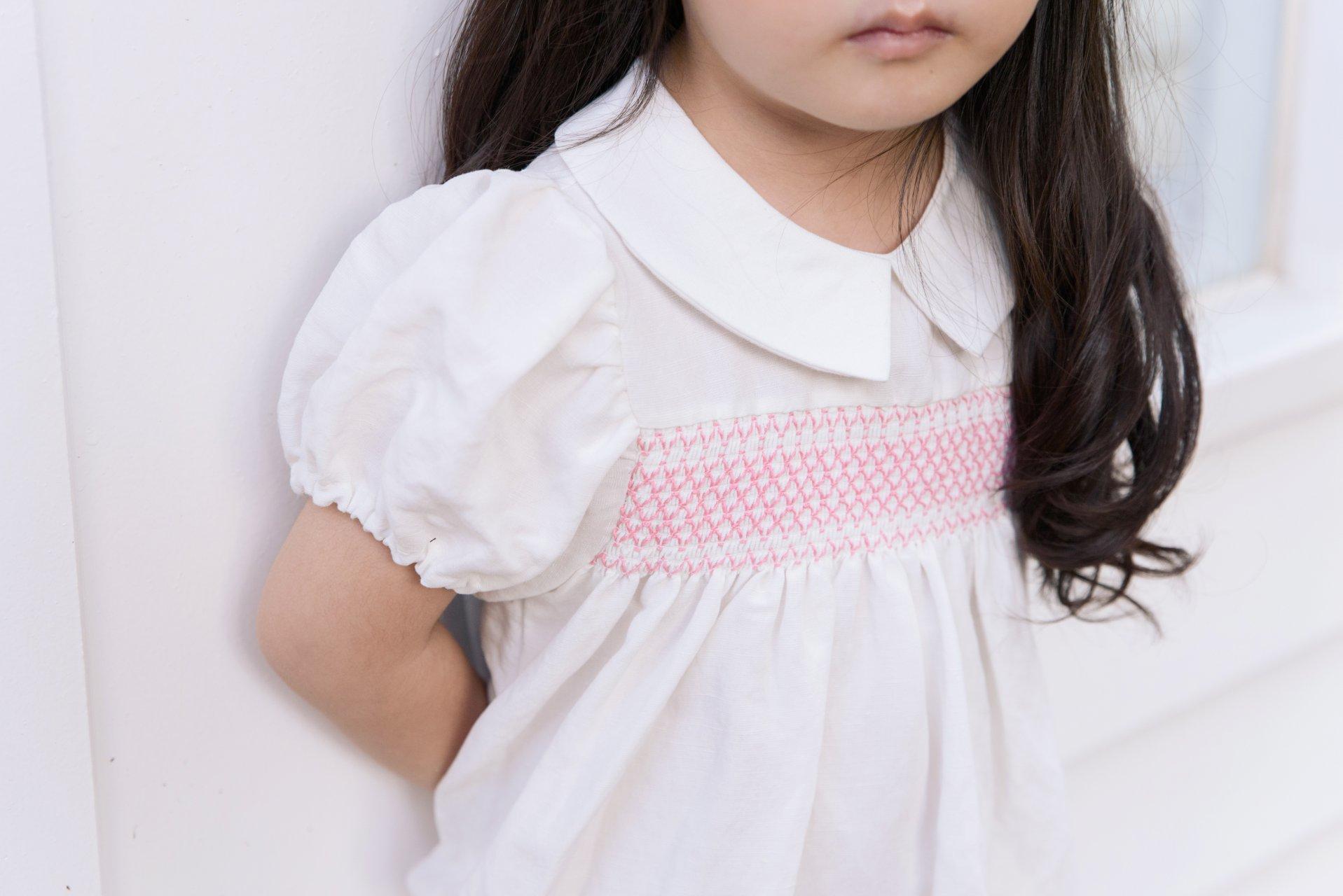 POURENFANT - Korean Children Fashion - #Kfashion4kids - Lorraine Linen Dress