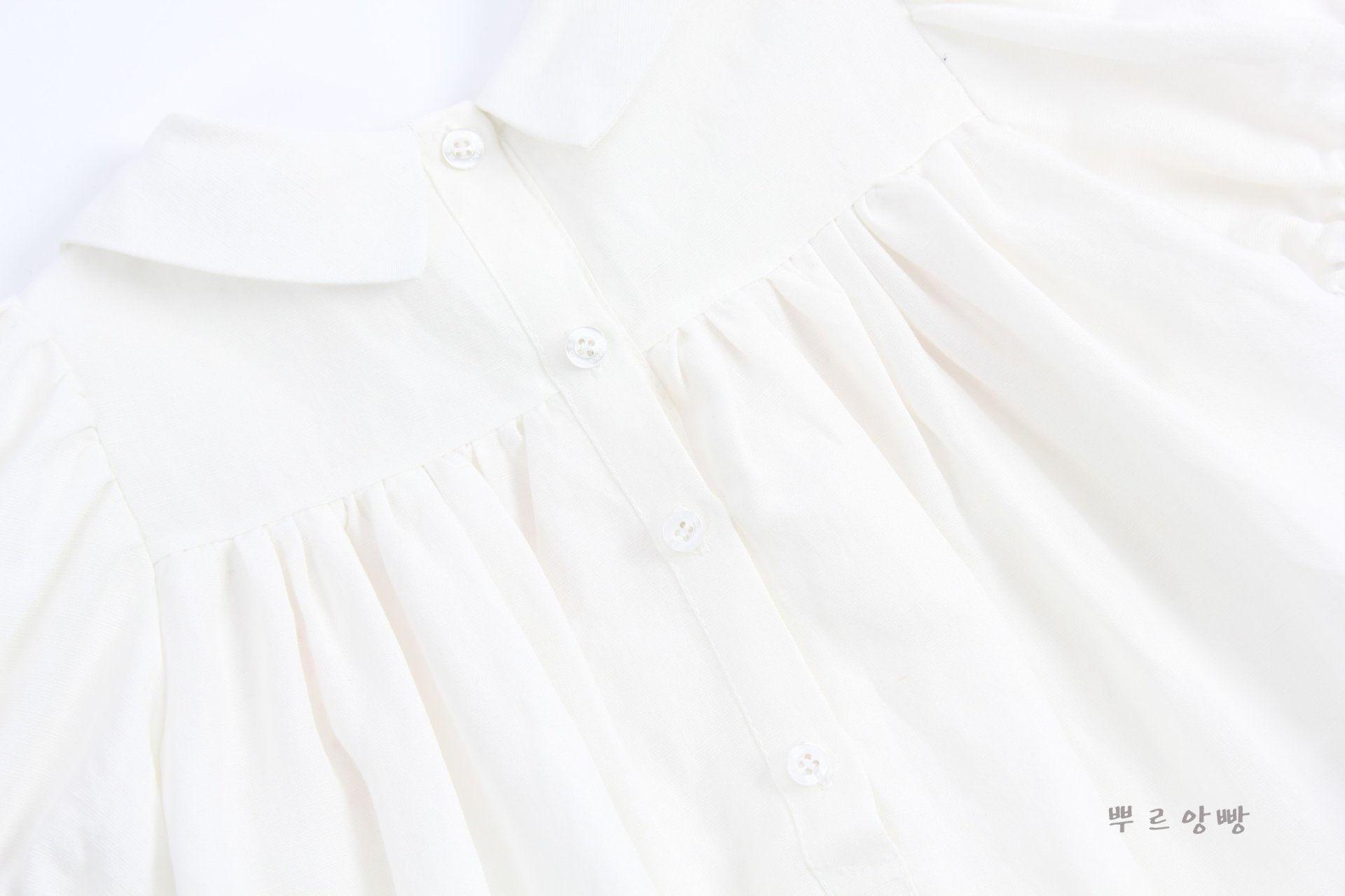 POURENFANT - Korean Children Fashion - #Kfashion4kids - Lorraine Linen Dress - 10