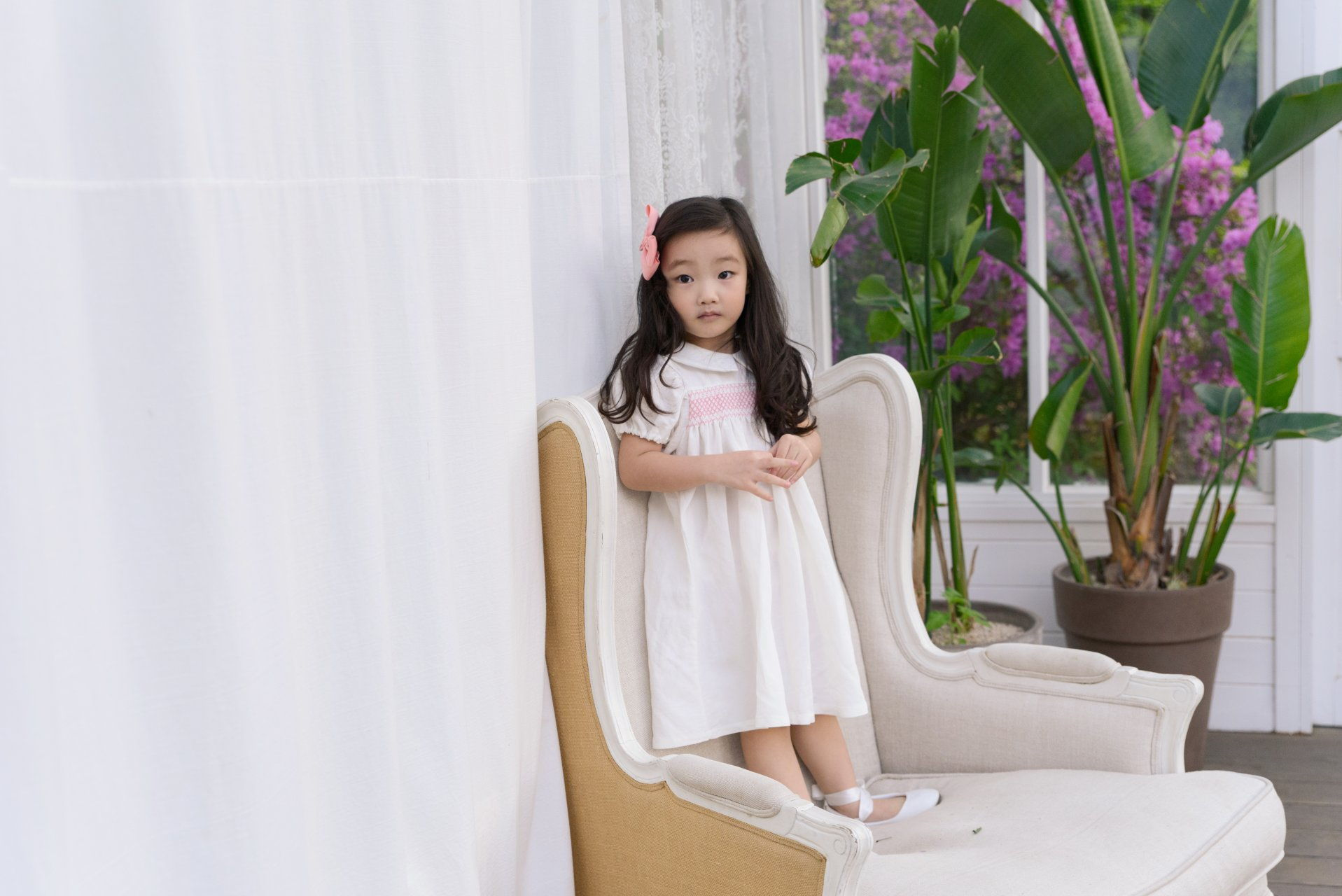 POURENFANT - Korean Children Fashion - #Kfashion4kids - Lorraine Linen Dress - 2