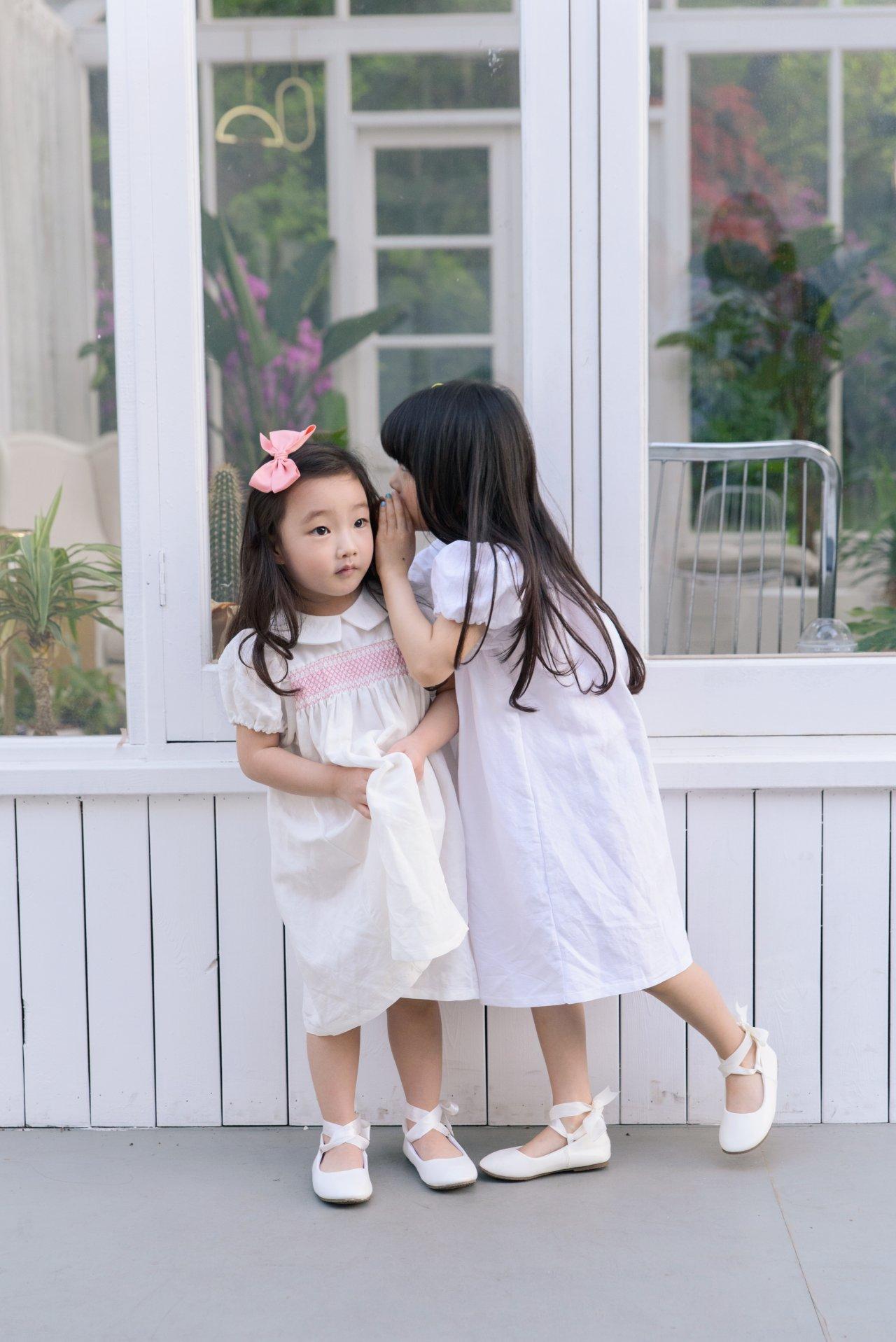 POURENFANT - Korean Children Fashion - #Kfashion4kids - Lorraine Linen Dress - 4