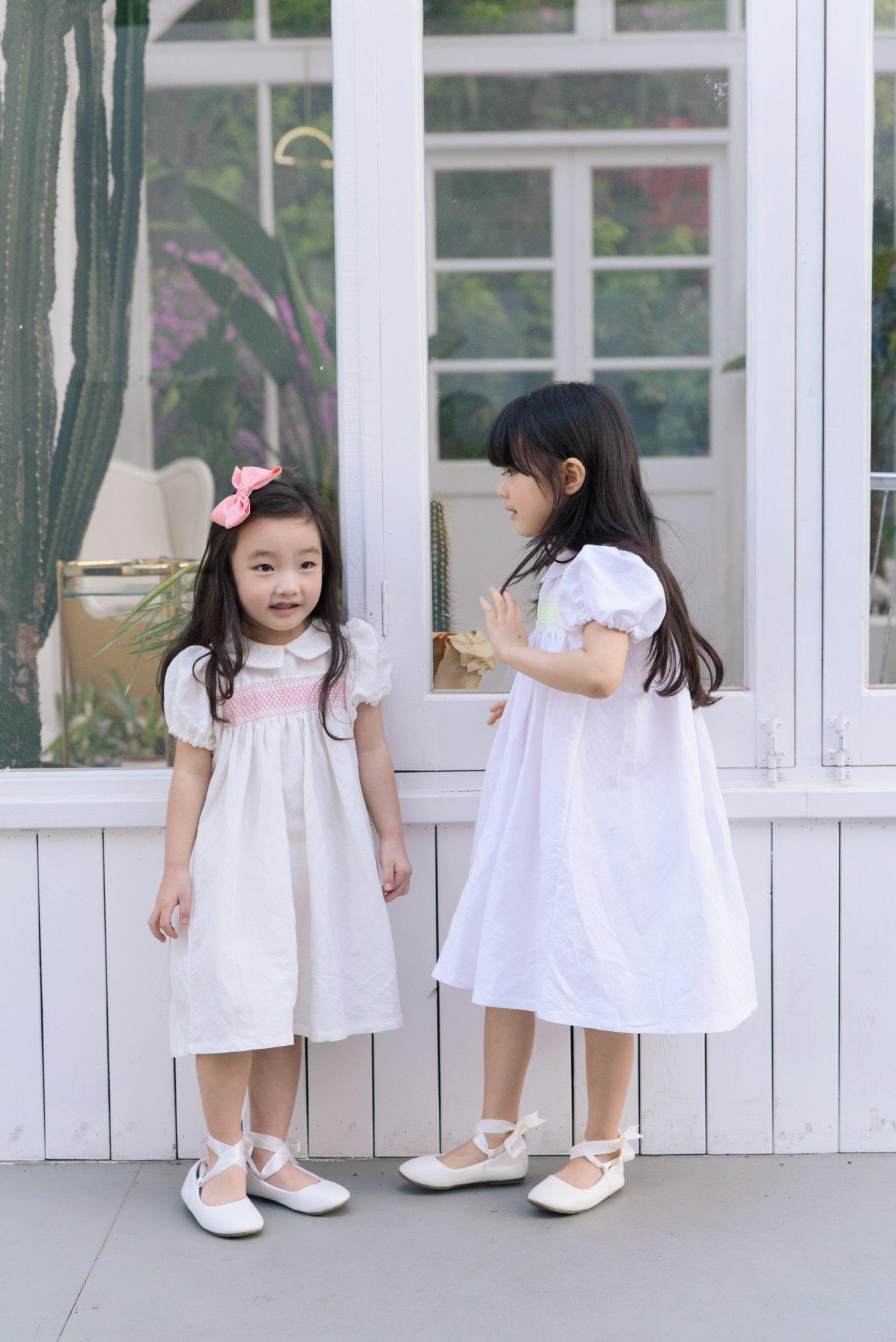 POURENFANT - Korean Children Fashion - #Kfashion4kids - Lorraine Linen Dress - 5