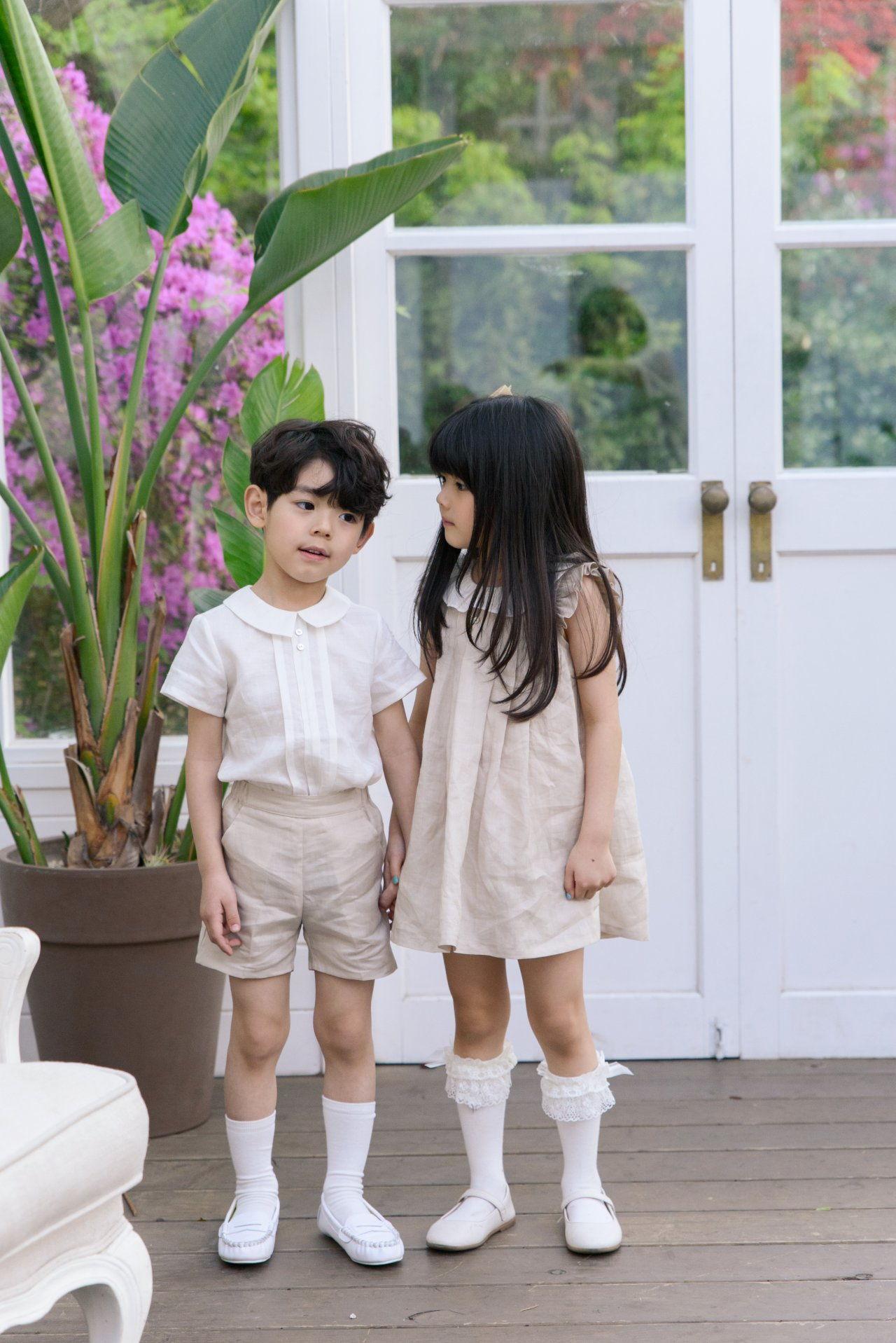 POURENFANT - Korean Children Fashion - #Kfashion4kids - Grendel Linen One-piece - 10