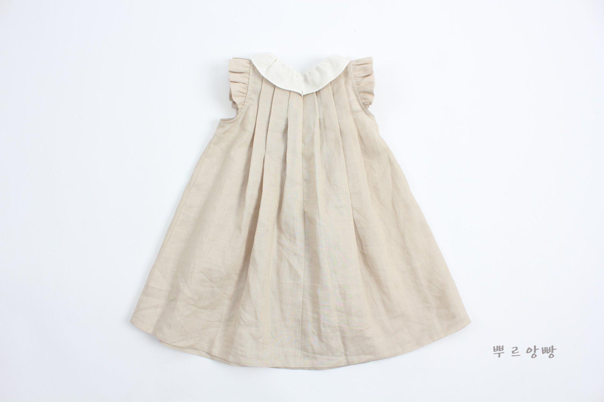 POURENFANT - Korean Children Fashion - #Kfashion4kids - Grendel Linen One-piece - 3