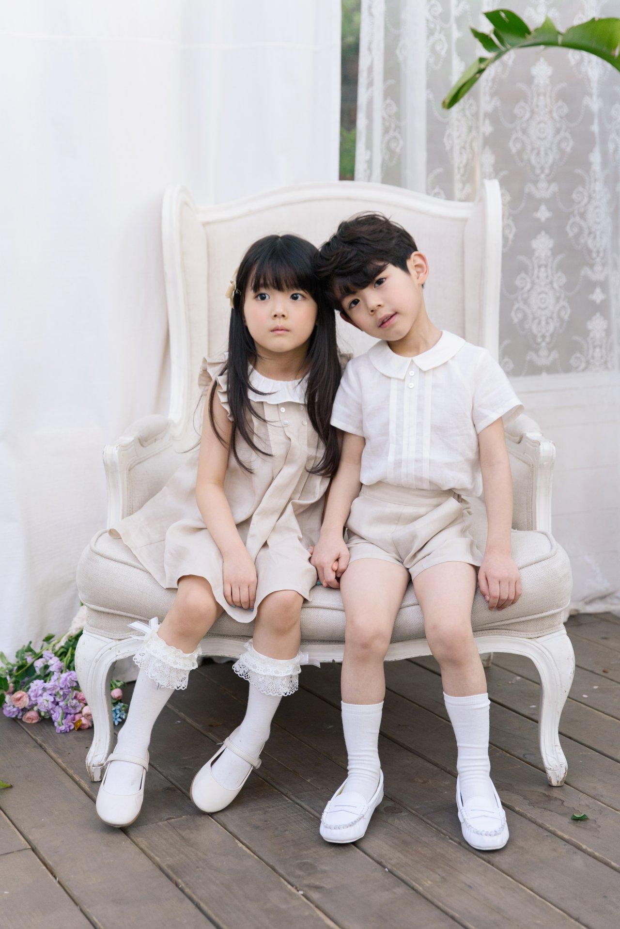 POURENFANT - Korean Children Fashion - #Kfashion4kids - Grendel Linen One-piece - 6