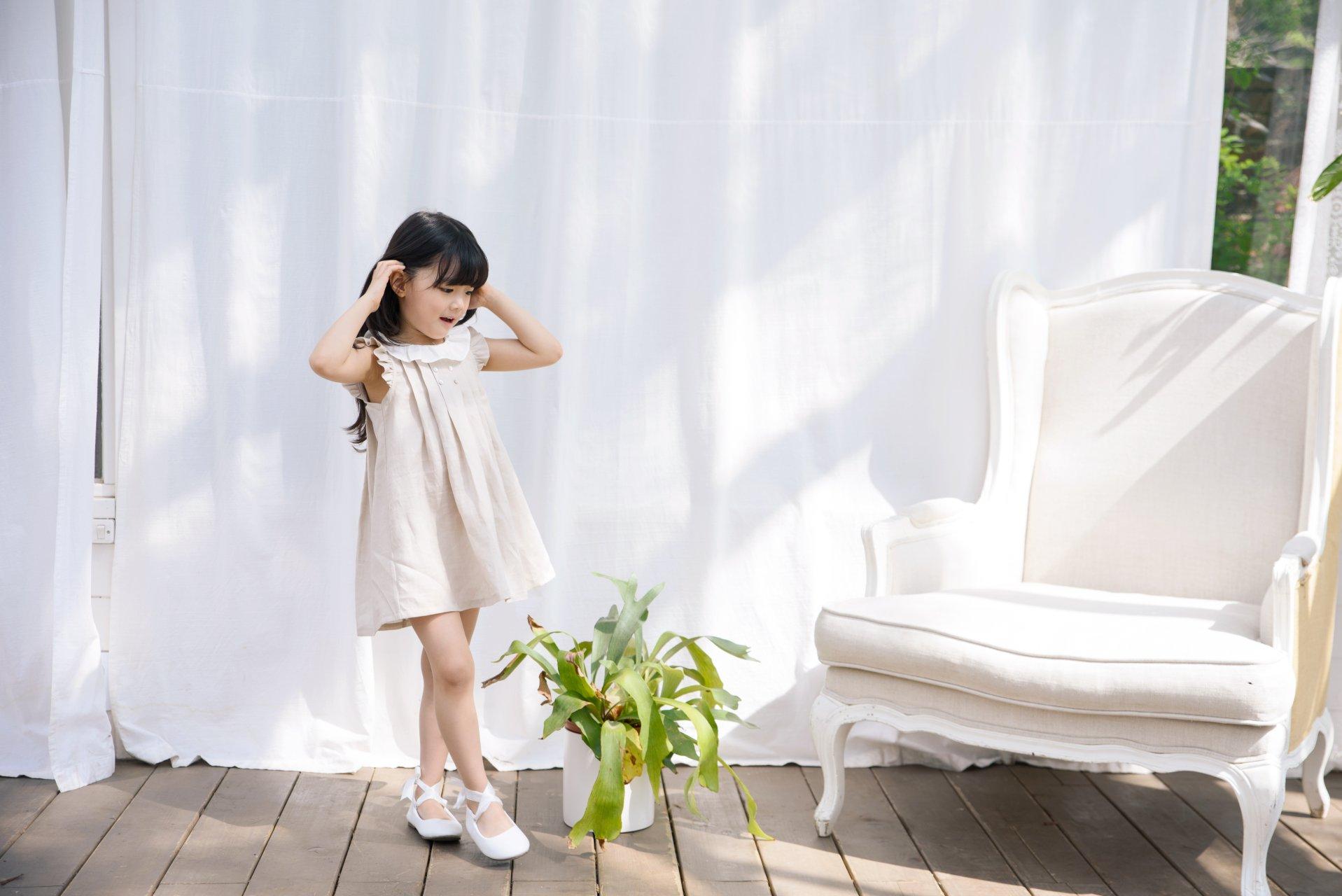 POURENFANT - Korean Children Fashion - #Kfashion4kids - Grendel Linen One-piece - 8