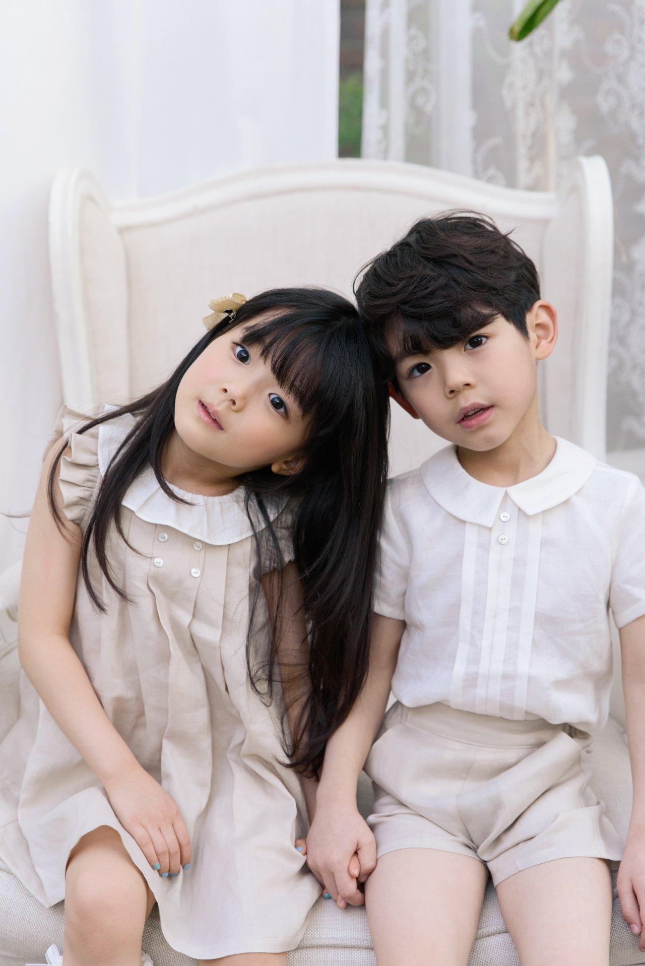 POURENFANT - Korean Children Fashion - #Kfashion4kids - Grendel Linen One-piece - 9