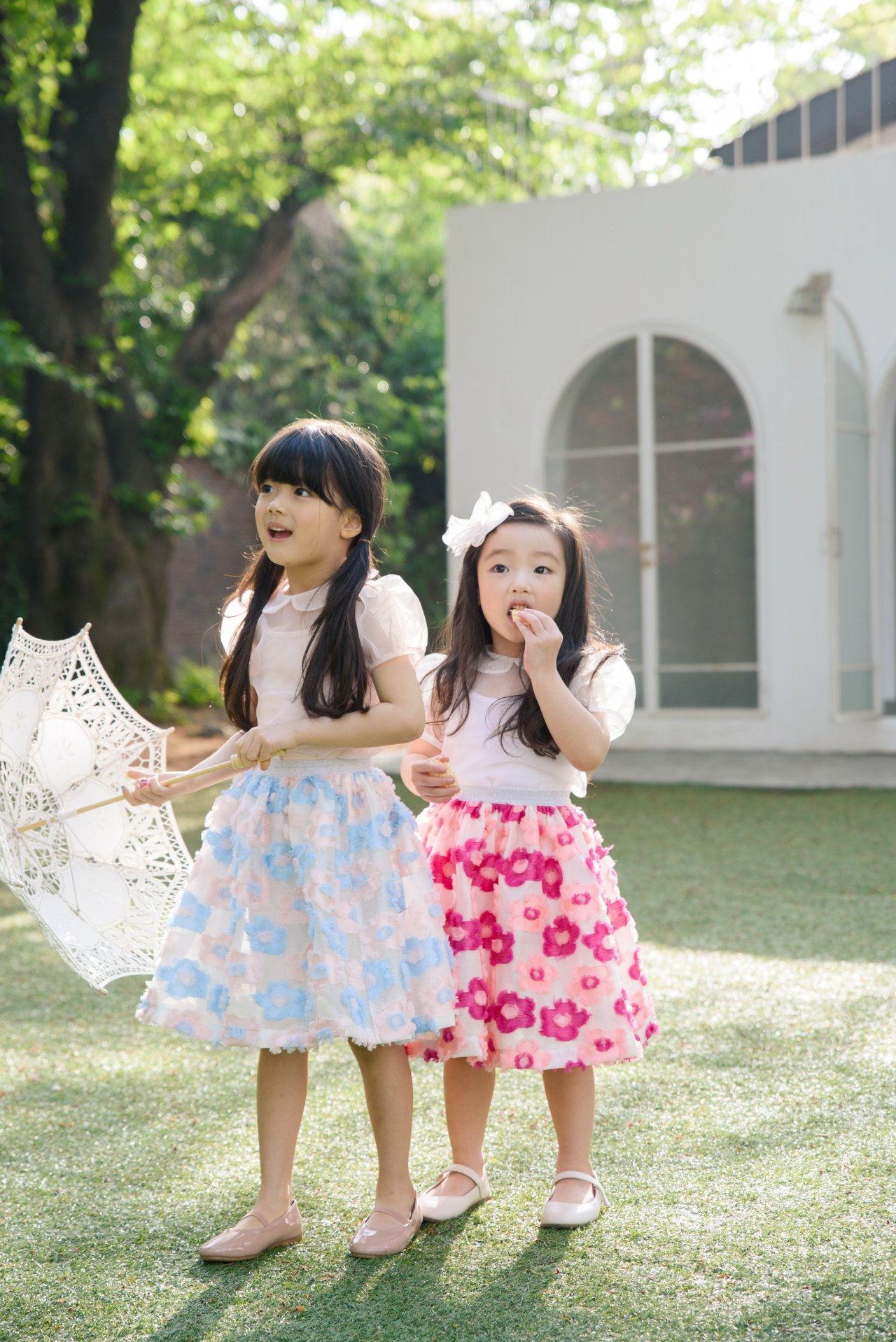 POURENFANT - Korean Children Fashion - #Kfashion4kids - Glory Jacquard Skirt - 2