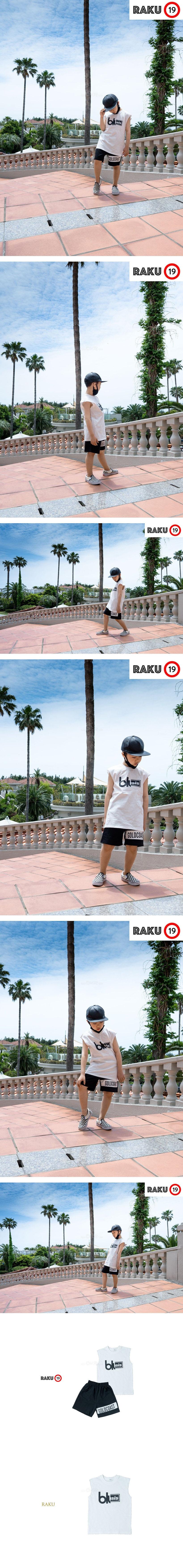 RAKU - Korean Children Fashion - #Kfashion4kids - GC Box Sleeveless Top