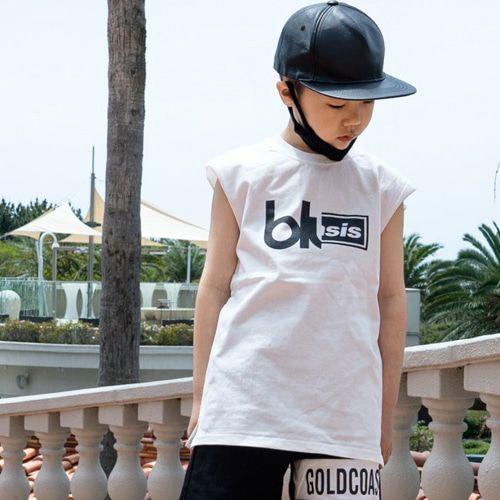 RAKU - BRAND - Korean Children Fashion - #Kfashion4kids - GC Box Sleeveless Top