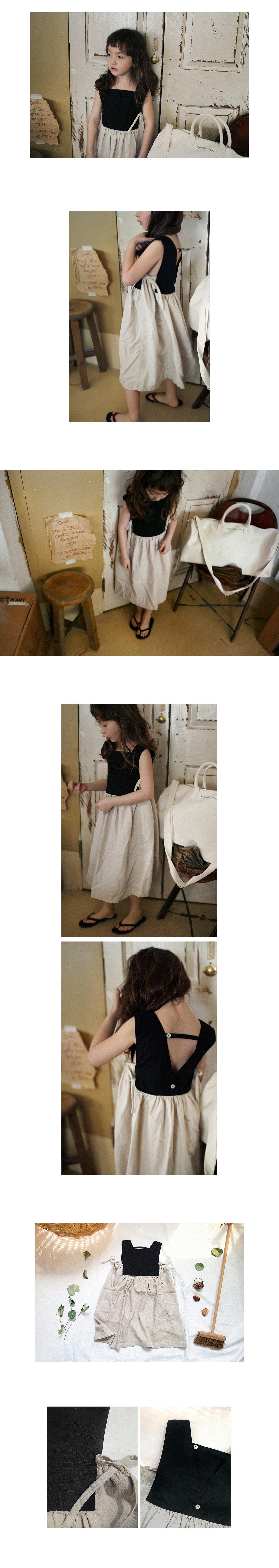 SCON - Korean Children Fashion - #Kfashion4kids - Giselle One-piece - 2