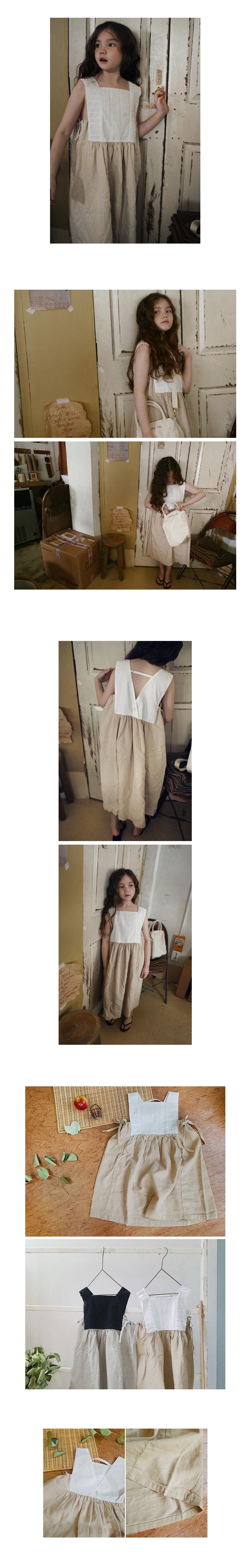 SCON - Korean Children Fashion - #Kfashion4kids - Giselle One-piece - 4